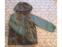 Boys Shower Resistant Hooded Jacket