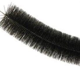Black hedgehog gutter brush