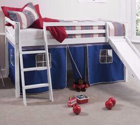 Cabin Bed Mid Sleeper Bunk