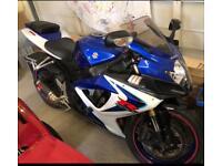 Suzuki GSXR 600cc K6 2006 motor bike