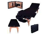 Massage Imperial Portable Massage Couch in Carry Case - As New