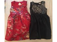 Girls 8-9 years old dresses x 2