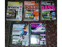 COMPUTER MUSIC MAGAZINES 2009 – 2013 (Complete with included DVD's)