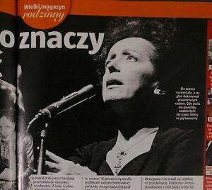 Edith Piaf, Humphrey Bogart, Jerzy Kossela, Anna Jantar, MALGORZATA KOZUCHOWSKA - europe, Polska - Zwroty są przyjmowane - europe, Polska