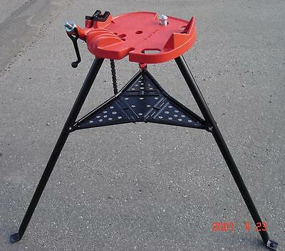 460 Tripod Tristand Chain Vise Hold 6 Pipe Compatible With Ridgid 72037 36273