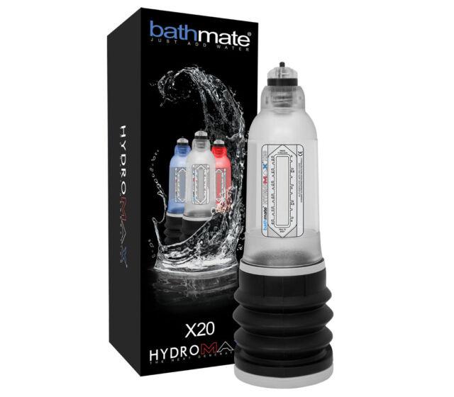 BATHMATE HYDROMAX zur Penisvergrößerung und Potenz In Länge und Umfang Original