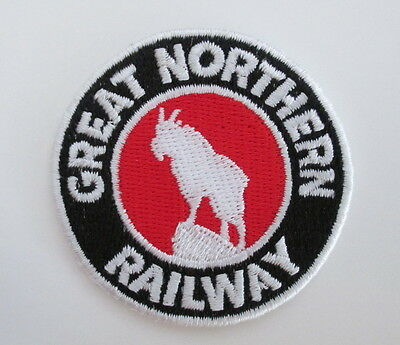 GREAT NORTHERN RAILWAY Railroad PATCH Iron (Great Northern Railroad)