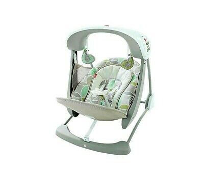 Fisher Price Deluxe Take Along Swing and Seat. 10 tunes - soothing nature sounds