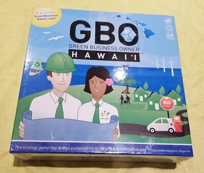 GBO Hawaii Green Entrepreneur Investor Sustainable Business Classroom Board Game