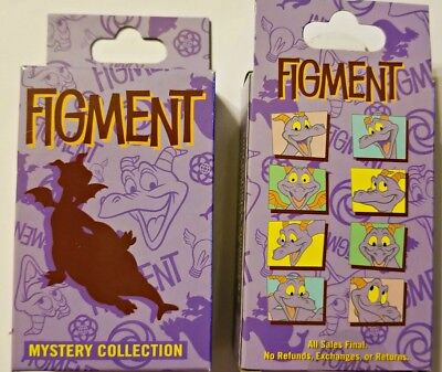 Disney Collectible Pin Pack FIGMENT Mystery Box of 2 Pins Sealed NEW
