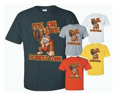 It's On Like Donkey Kong T-Shirt, 100% cotton Its On Like Donkey Kong T-shirt