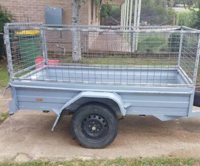 7x4 Cage Trailer Available for Hire in Canberra