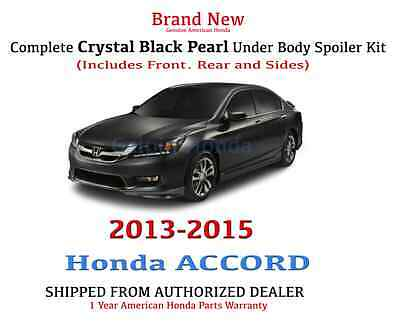 Genuine OEM Honda Accord 4Dr Sedan Complete Under Body Kit  2013 - 2015 NH-731P
