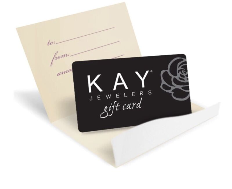 Kay Jewelers Gift Card $150.00