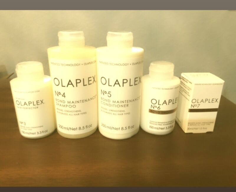 Olaplex #3, #4, #5 , #6 , #7- Full SET, Sealed, Guaranteed Authentic !