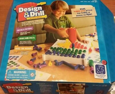 Design and Drill Activity Center Educational Insights Real Tool Action 3+