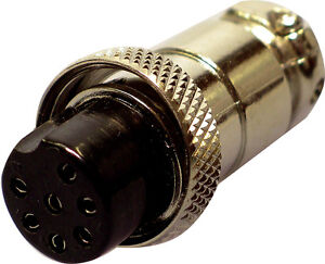 7 PIN MICROPHONE MIKE PLUG FOR YAESU FT290R AMATEUR RADIO