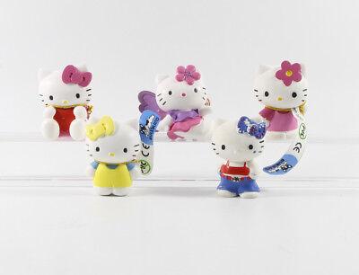 Hello Kitty === 5 x Figuren Bully Bullyland