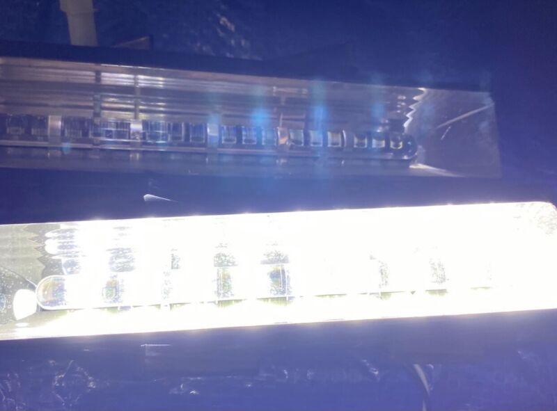 WHELEN LFL LIBERTY PATRIOT LED LIGHTBAR LIN18 DUO CORNER LIGHTS