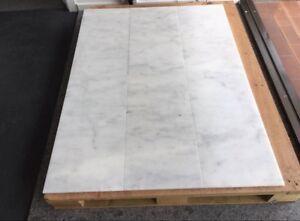 Premium Bianco Marble Tiles for flooring, feature walls etc... Wingfield Port Adelaide Area Preview