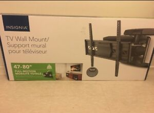 wall mount full motion size 47 - 80 Brand new