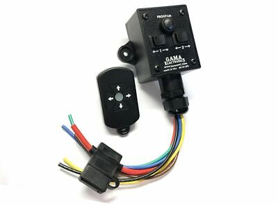 Waterproof Rf Remote Control System 2 12vdc Polarity Reversing Motor Outputs