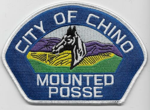 Chino Police Mounted Posse State California CA