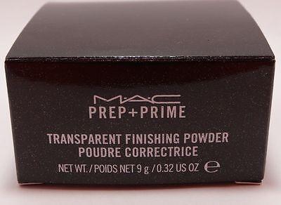Mac Face Powder (MAC Cosmetics Prep + Prime Transparent Finishing)