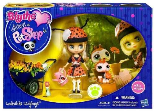 Blythe Littlest Pet Shop Look-Alike Ladybugs HASBRO Blythe Loves #B10 #1859