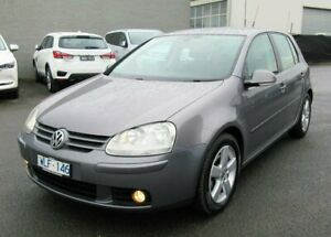 2008 Volkswagen Golf V MY08 Pacific DSG Grey 6 Speed Sports Automatic Dual Clutch Hatchback Lilydale Yarra Ranges Preview