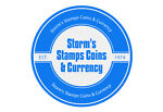 Storm s Stamps Coins & Currency
