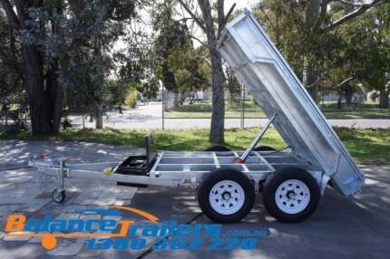 8x5 Galvanised Hydraulic Tandem Tipper Trailer ATM 3.0T 3000kg Kilsyth Yarra Ranges Preview
