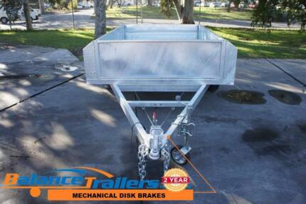 7x5 GALVANISED TRAILER WITH 500mm HIGH SIDE & BRAKE GVM1400KG Kilsyth Yarra Ranges Preview