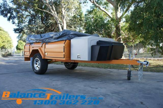 8x6 OFF ROAD CAMPER TRAILER WITH INDEPENDENT SUSPENSION