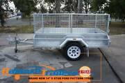 7x4 GALVANISED FULLY WELDED TIPPER BOX TRAILER WITH 600mm CAGE Kilsyth Yarra Ranges Preview
