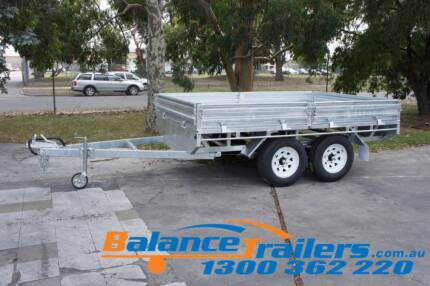 10×7 HEAVY DUTY FULLY WELDED FLAT TOP TANDEM TRAILER ATM 3200KG Kilsyth Yarra Ranges Preview
