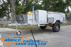 Deluxe Off Road Hard Floor Camping Camper Trailer 4X4 4WD Caravan Kilsyth Yarra Ranges Preview