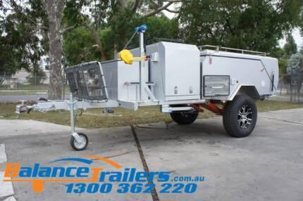 Deluxe Off Road Hard Floor Camping Camper Trailer 4X4 4WD Caravan