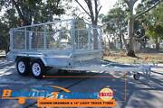 10x6 Hot Dip Galvanised Full Welded Tandem trailer With 900mm cag Kilsyth Yarra Ranges Preview