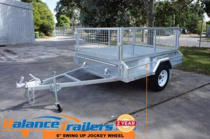 7x5 GALVANISED FULLY WELDED BOX TRAILER WITH BRAKE GVM1400KG Kilsyth Yarra Ranges Preview