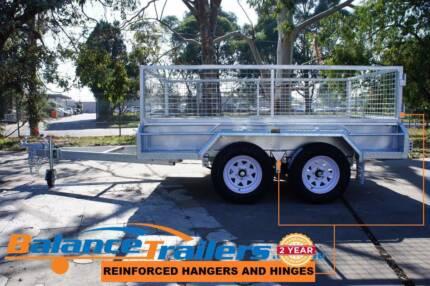 10×5 Heavy Duty Fully Welded Tandem Braked Trailer ATM 2000kg Kilsyth Yarra Ranges Preview