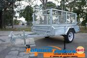 6x4 GALVANISED WELDED TIPPER TRAILER WITH 600mm REMOVABLE CAGE Kilsyth Yarra Ranges Preview