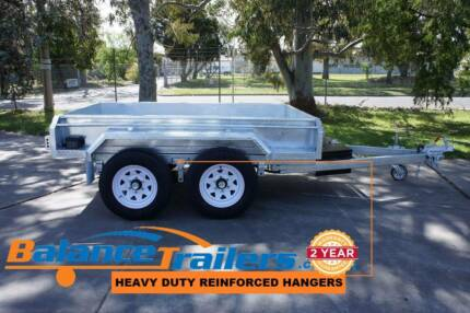 8x5 Galvanised Hydraulic Tandem Tipper Trailer ATM 3000kg Kilsyth Yarra Ranges Preview