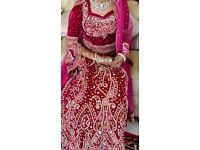 Asian wedding dress urgent sale