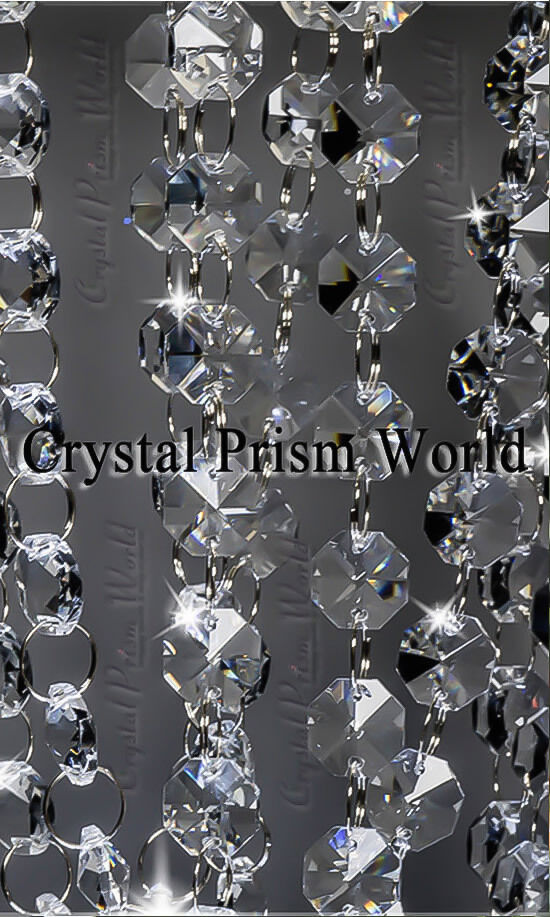 6ft Crystal Glass Bead Chandelier Wedding Centerpiece Lamp Swag Garland Chain