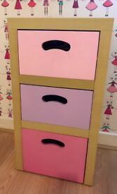 Next girls bedroom furniture inc baby changing unit