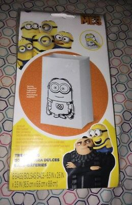 Despicable Me 3 Minions Mini Paper Treat Bags - Birthday Party Supplies New](Despicable Me Treat Bags)