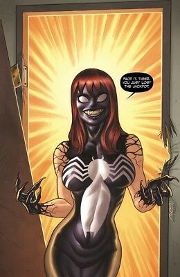 VENOM 1 MARY JANE QUINONES BUBBLE VIRGIN VARIANT AMAZING SPIDERMAN 678 HOMAGE NM