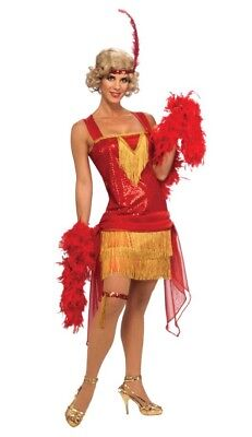 New Adult Flapper Cotton Club Beauty Costume Rubies All That Jazz 880780](Jazz Flapper Costume)