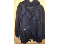 River Island Navy Shimmy Light Weight Winter Jacket / coat size 8 Rrp £79.99